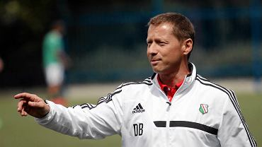 Dariusz Banasik jako trener juniorów Legii Warszawa