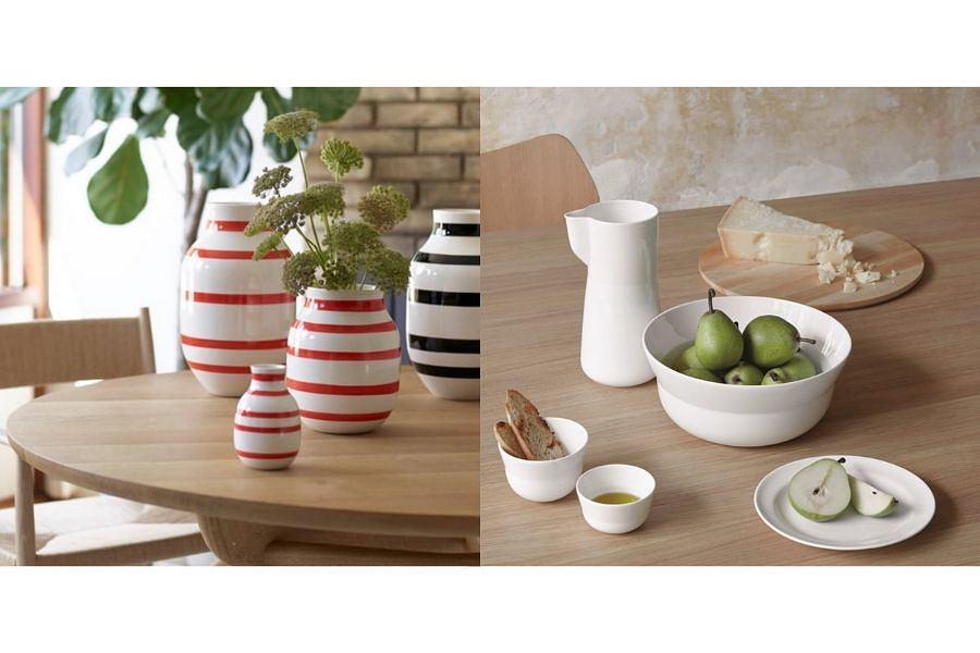 Kultowe wazony w pasy i nowoczesna linia ceramiki Kähler