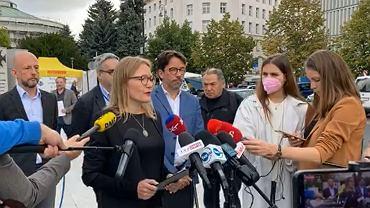 Protest dziennikarzy ws. stanu wyjątkowego