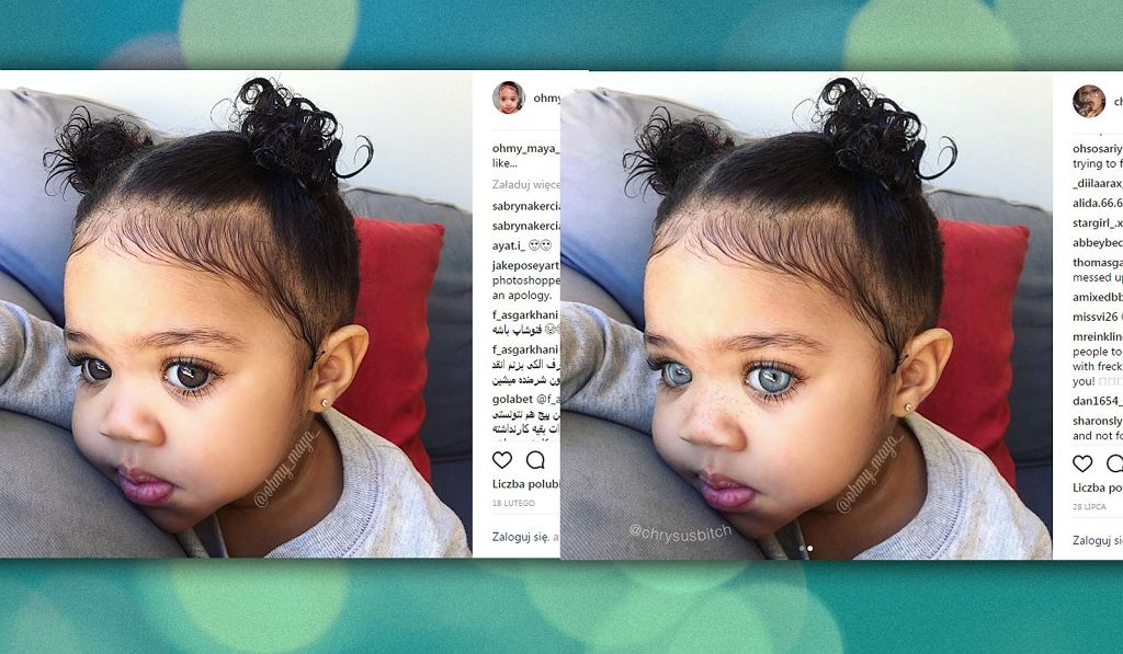 Zdjęcia dzieci są kradzione, a potem przerabiane w sieci.