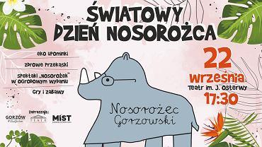 Wrzesień 2021 r. Gorzowska Stefania zaprasza na Światowy Dzień Nosorożca