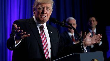Prezydent USA Donald Trump chce, by za mur na granicy zapłacił Meksyk