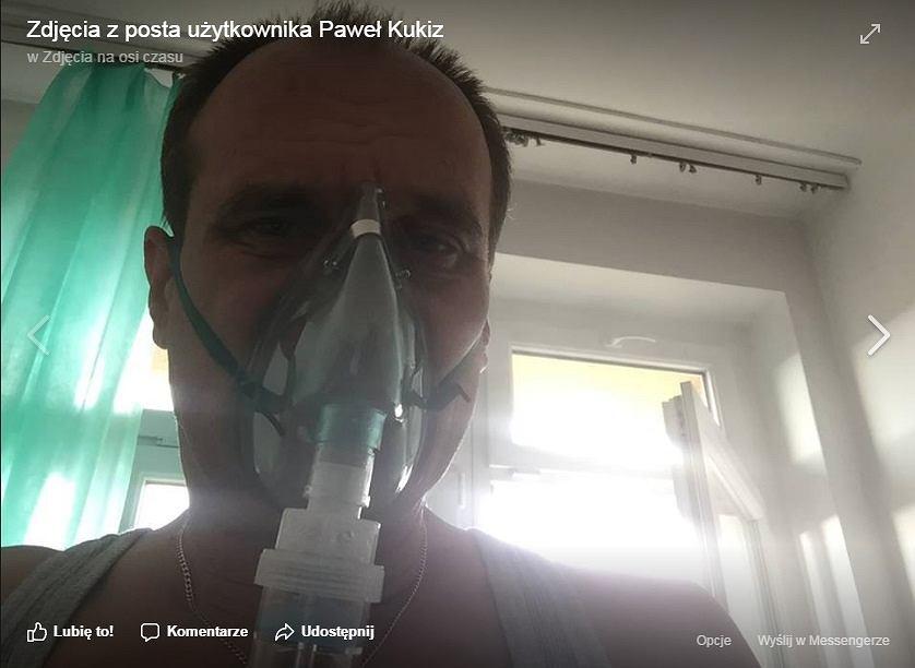 Paweł Kukiz w szpitalu