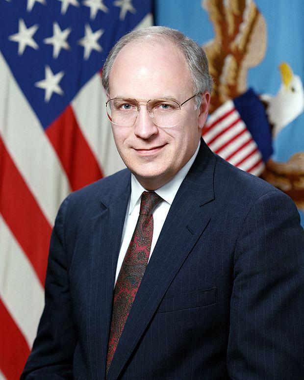 Oficjalne zdjęcie Chenneya z 1989 roku, kiedy został sekretarzem obrony