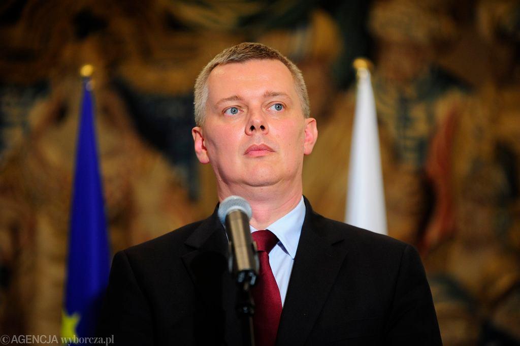 Wicepremier i Minister Obrony Narodowej Tomasz Siemoniak