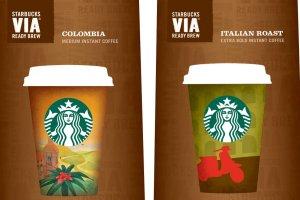 Kawa VIA Ready Brew w Starbucks