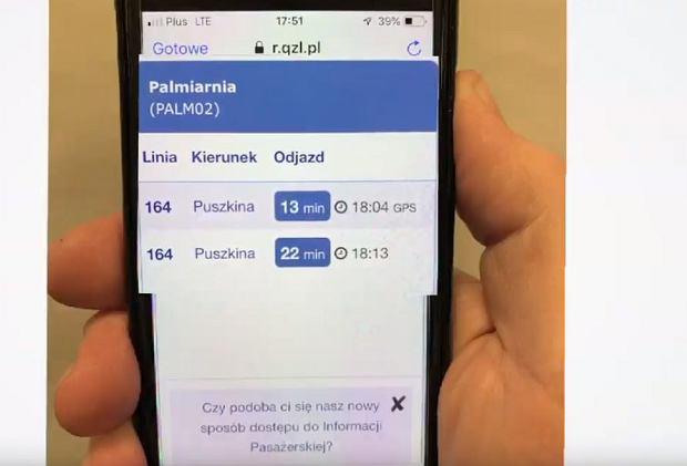 Testowy system NFC w Poznaniu