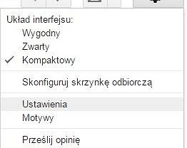 Gmail - cofnij wysłanie