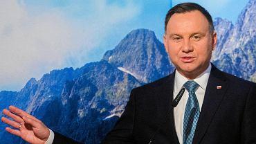 Andrzej Duda wziął udział w Międzynarodowym Forum Górskim w Zakopanem.