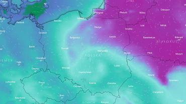 Mróz w Polsce z soboty na niedzielę 17 stycznia.