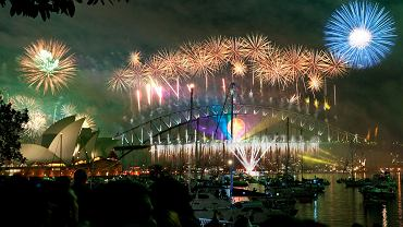 Powitanie Nowego Roku w Sydney