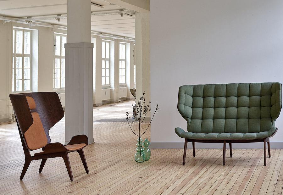 Fotel Mammoth Chair Slim od marki NORR11