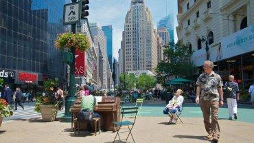 Fortepian w Nowym Jorku/ Fot. CC BY-NC-SA 2.0/ Ed Yourdon/ www.flickr.com/photos/yourdon/