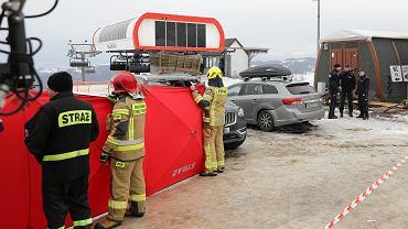 Wypadek na stoku w Bukowinie Tatrzańskiej.