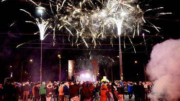 Nowy Rok w Olsztynie