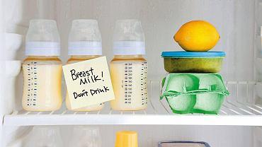 Pokarm przechowujemy na półkach lodówki, nie w jej drzwiach.
