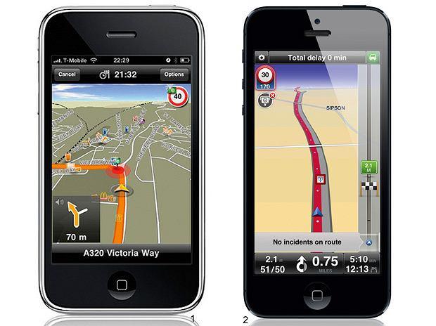Testy: aplikacje antyradarowe, aplikacja, samochody, testy, Aplikacje antyradarowe 1. Navigon; Cena: 250 zł lub 90 euro, 2. TomTom; Cena: 245 zł lub 75 euro