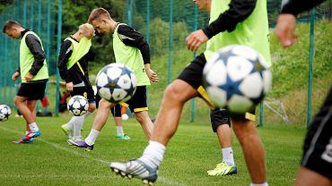 Trening GKS-u Katowice