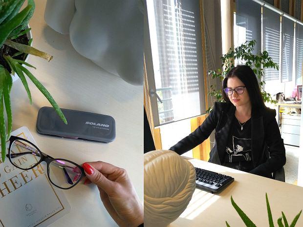 Okulary są świetne do pracy przy komputerze