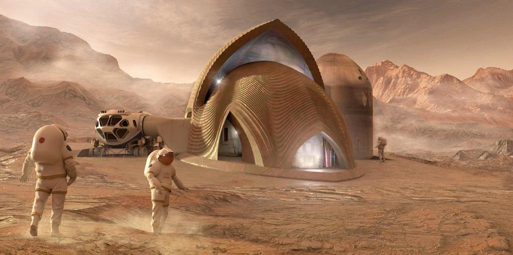 Finałowy projekt marsjańskiego habitatu w konkursie NASA