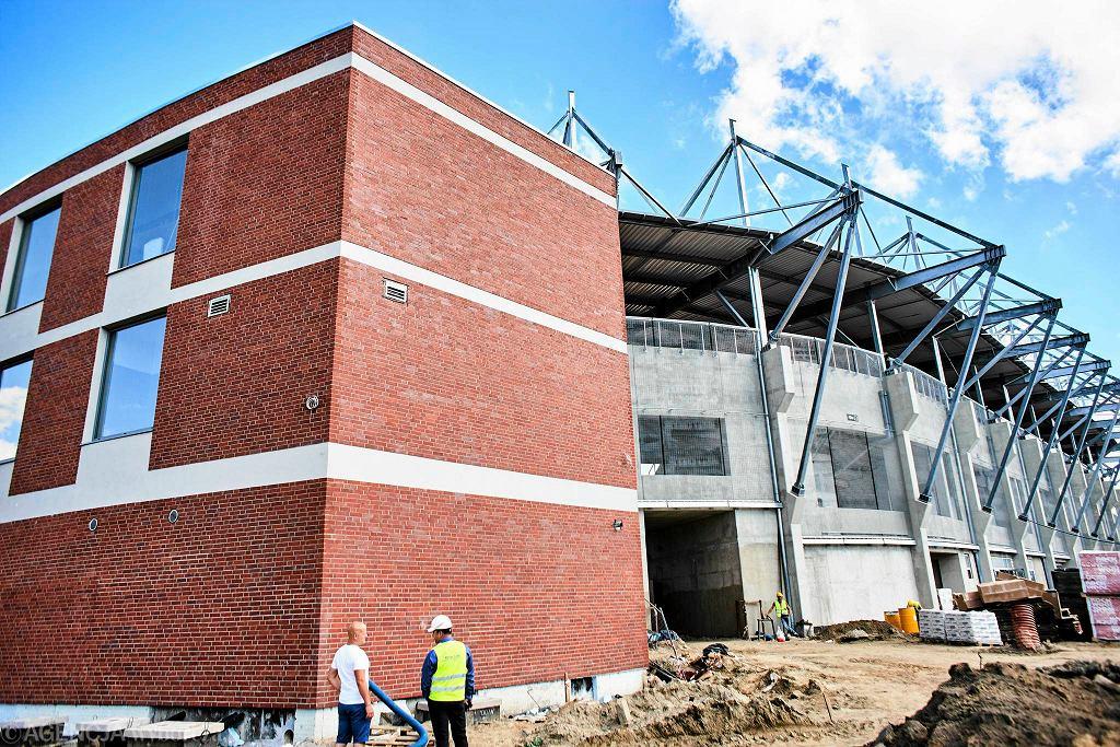 Budowa stadionu Widzewa