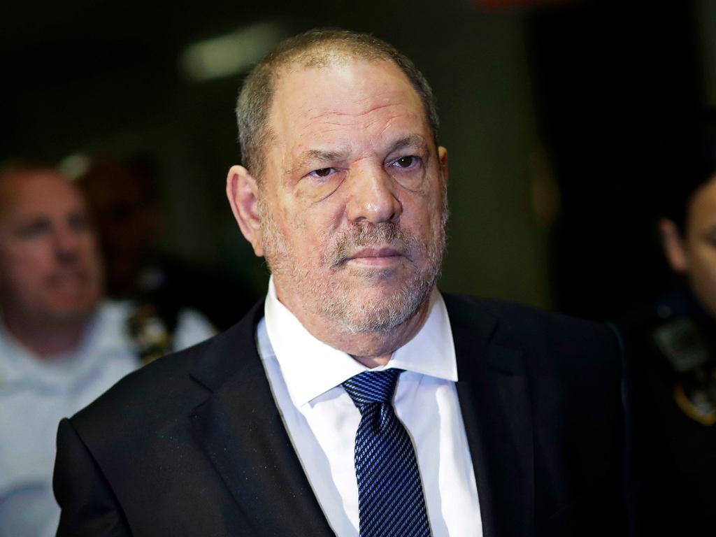 Harvey Weinstein w nowojorskim sądzie w październiku 2018