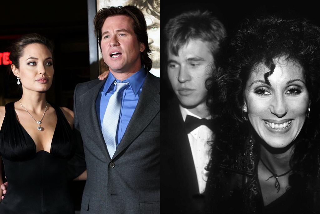 Val Kilmer, Cher, Angelina Jolie