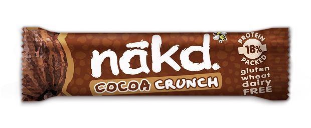 Nakd kakaowy z chrupkami