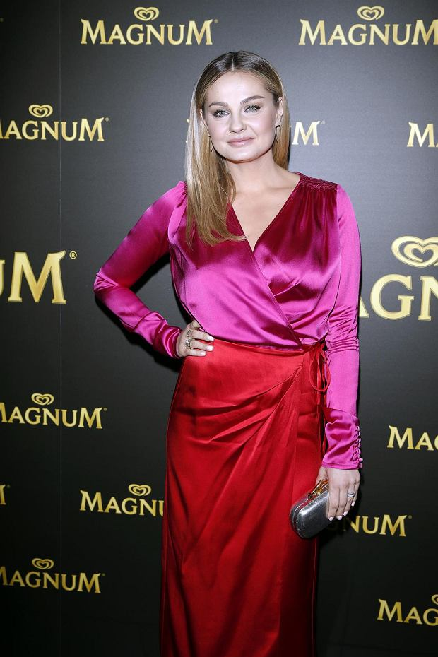 Gwiazdy na imprezie Magnum - Małgorzata Socha