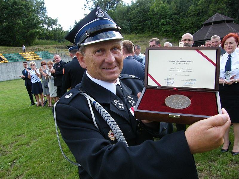 Sołtys Tadeusz Szymborski jest również prezesem Ochotniczej Straży Pożarnej