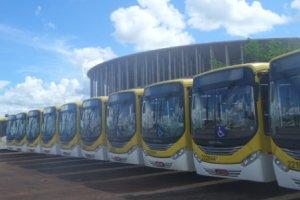 Mundialowy stadion w Brazylii stał się zajezdnią autobusową