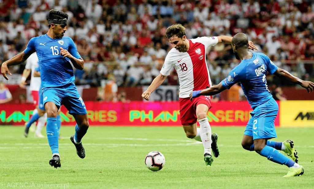 Polska - Izrael 4:0. Grzegorz Krychowiak
