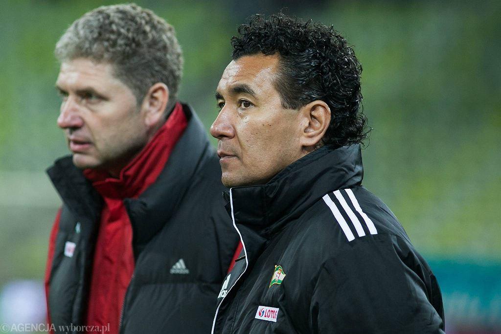 Ricardo Moniz (z prawej) oraz Ryszard Robakiewicz