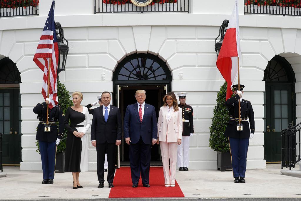 Andrzej Duda w Białym Domu