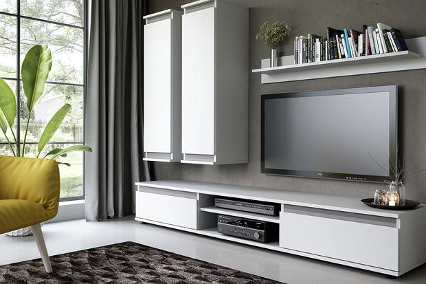 Szafki RTV - jak wybrać taką która będzie funkcjonalna i stylowa?
