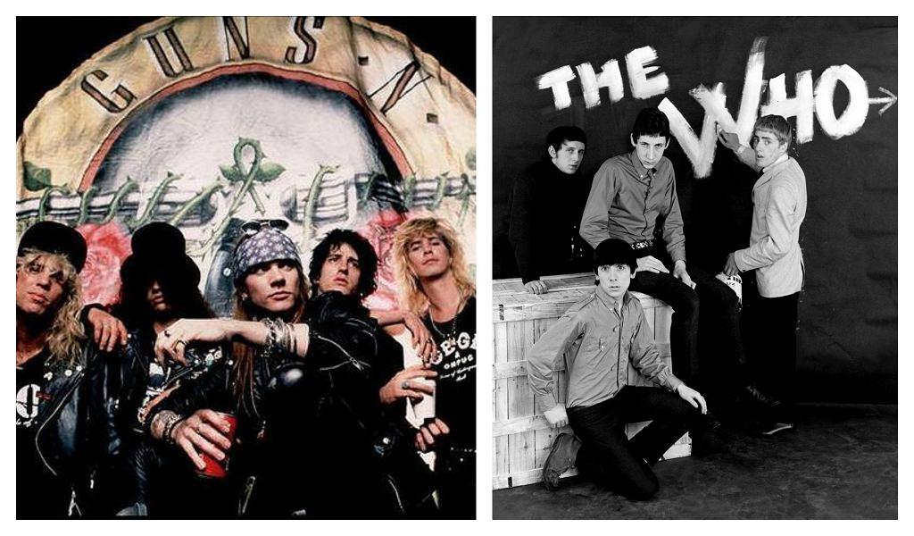 Guns N' Roses i The Who