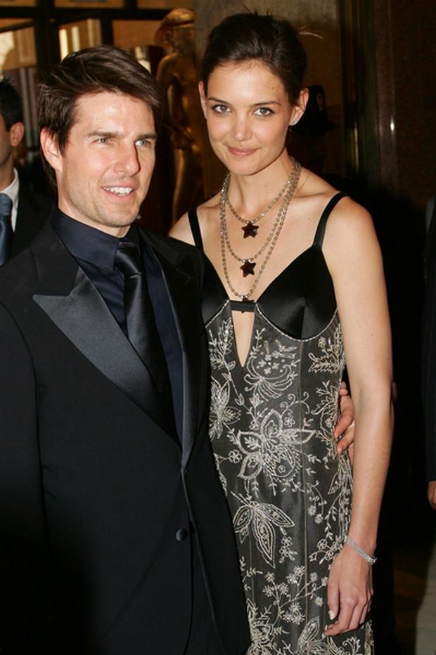 04/29/2005 - Katie Holmes - 2005 David Di Donatello Award Show in Italy - Auditorium Pio - Rome, Italy - Keywords: Tom Cruise - Photo Credit: Graffiti Press / Photorazzi - Contact (1-866-551-7827)