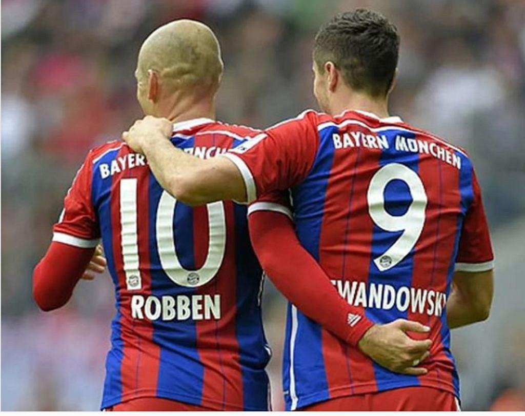 Robben i Lewandowski