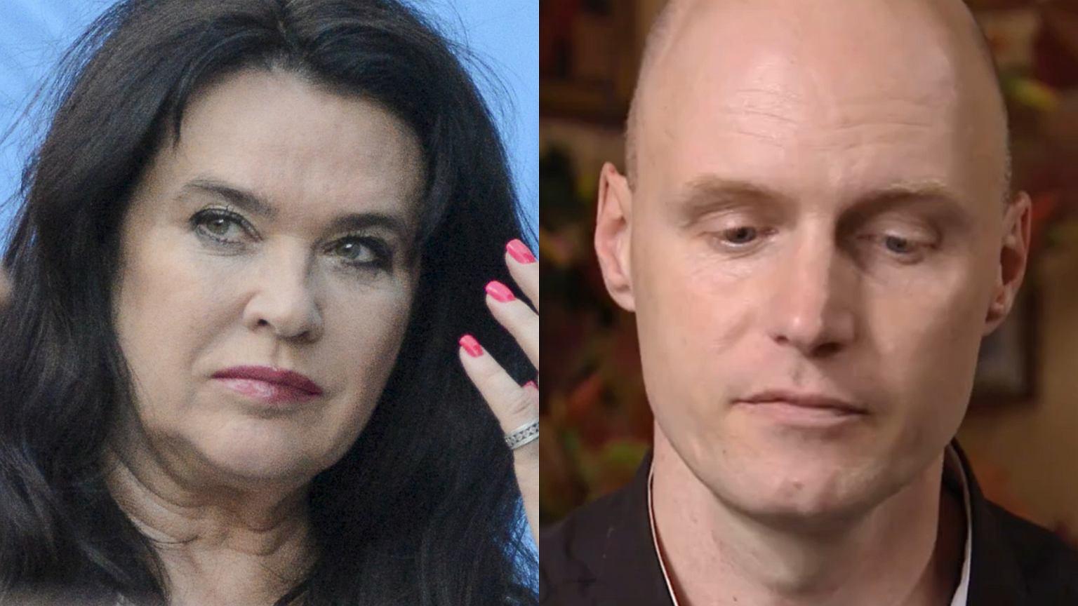 Ewa Krawczyk utrudniała kontakty męża z synem? Odniosła się do zarzutów pasierba.