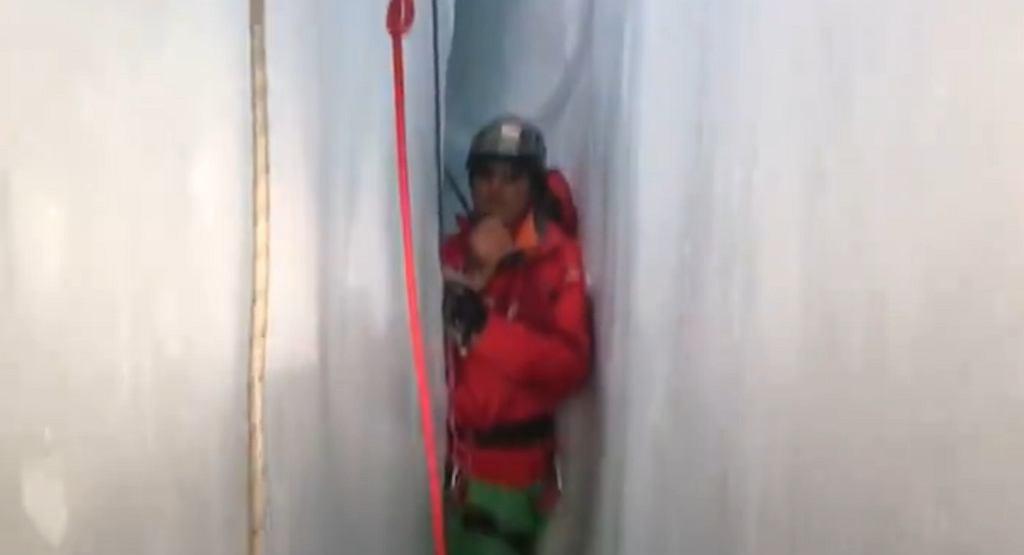 Akcja ratunkowa we włoskich Alpach