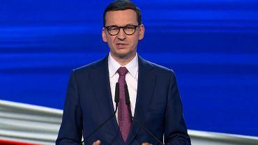Mateusz Morawiecki prezentuje 'Nowy ład'
