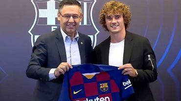 Antoine Griezmann oficjalnie zaprezentowany w Barcelonie