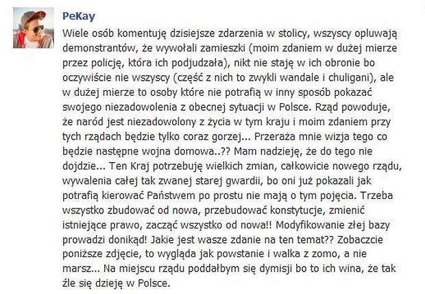 Pikej, Piotr Kukulski.