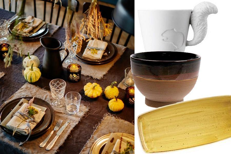 Zastawa stołowa na jesień