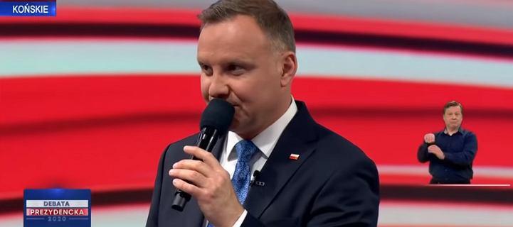Andrzej Duda obawia się wyników wyborów? Ekspertka mowy ciała przeanalizowała jego zachowanie