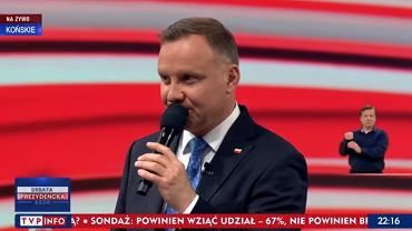 Andrzej Duda obawia się wyników wyborów? Ekspertka przeanalizowała jego zachowanie na debacie.