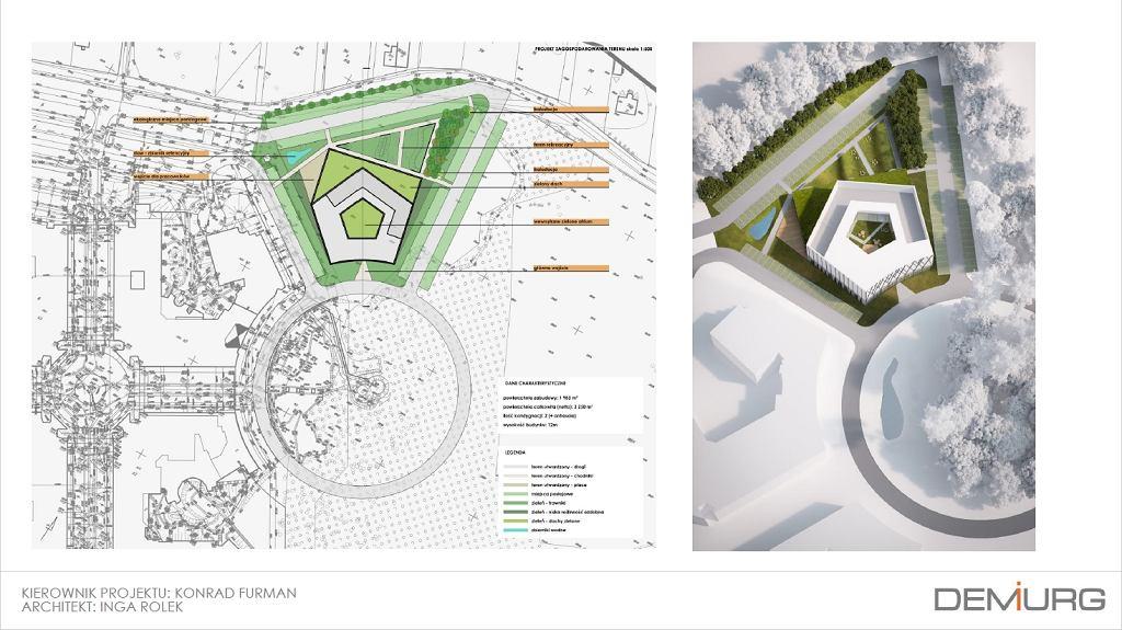 Wizualizacje nowej biblioteki Uniwersytetu w Białymstoku
