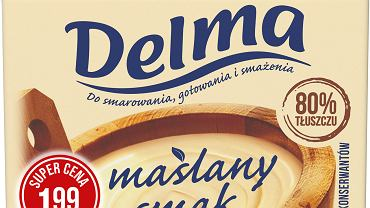Smaruj, gotuj i smaż - z Delmą Maślany smak 80% tłuszczu!