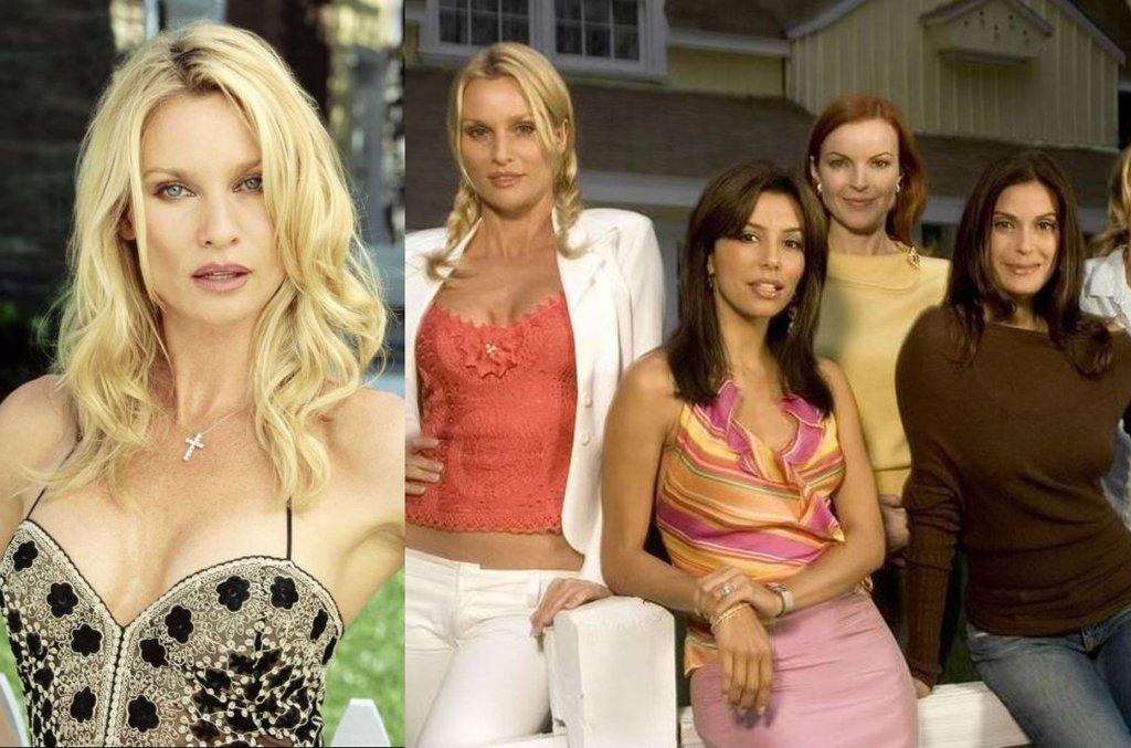 Nicollette Sheridan, Eva Longoria, Marcia Gross, Teri Hatcher i Felicity Huffman w