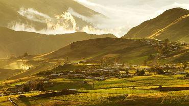 Wioska Cubilin  w prowincji Chimborazo, Ekwador / fot. Shutterstock